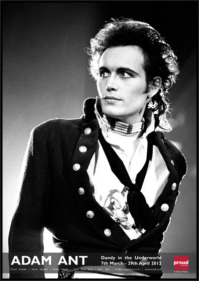 Adam Ant in aid of DEBRA